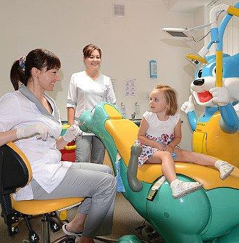 фото детского стоматологического кабинета в клинике лечения зубов Багита