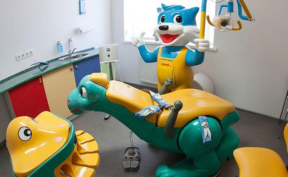 фото детского стоматологического кабинета в клинике Багита в Черкассах