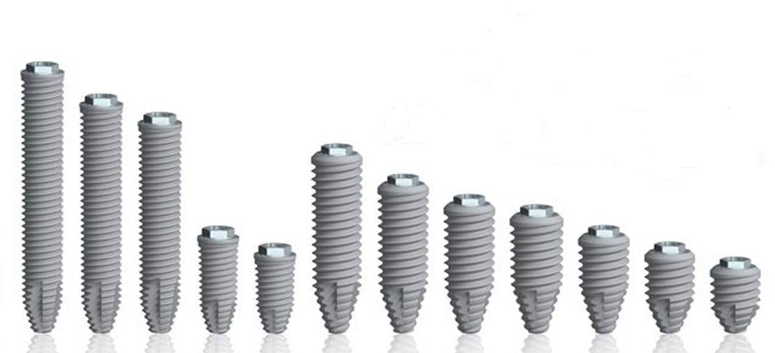 виды имплантов в стоматологии протезирование и имплантация в Черкассах