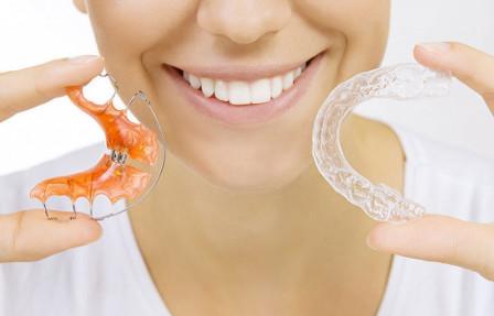 виды капы для выравнивания прикуса в стоматологии