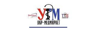 логотип укр-медмаркет партнера стоматологии Багита