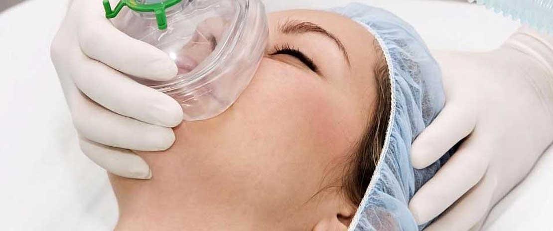 фото использования общего наркоза в стоматологической клинике Багита для лечения зубов в Черкассах