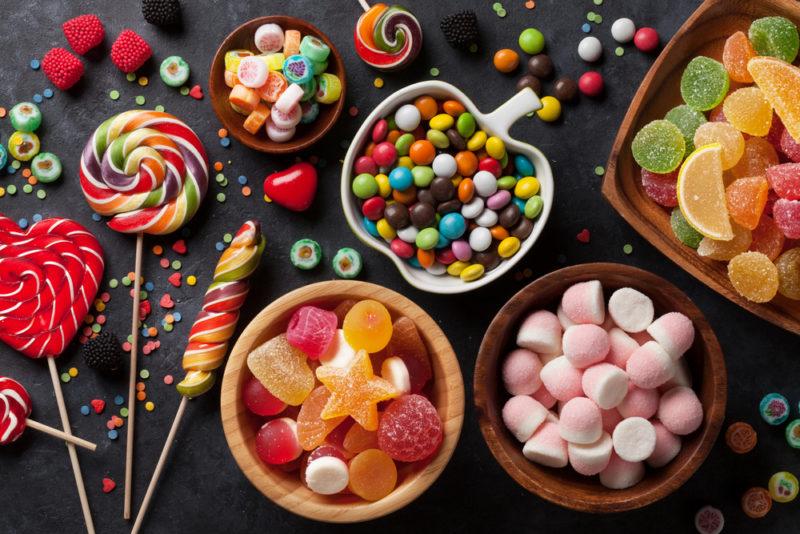 фото сладостей вредных для зубов